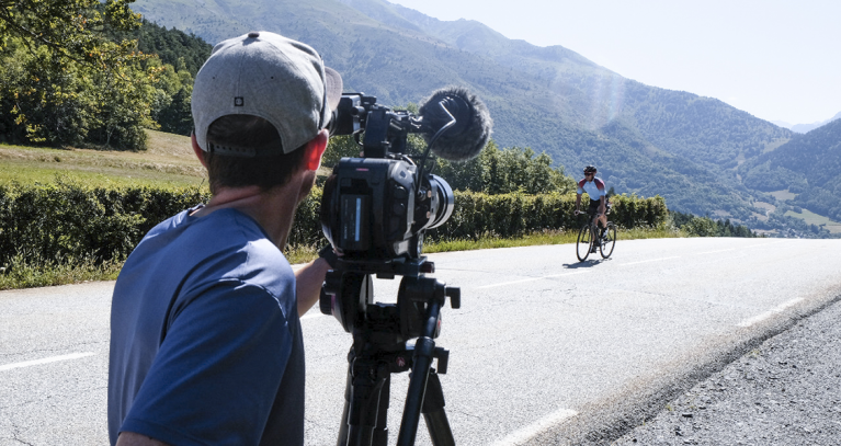 Backstage route cyclisme